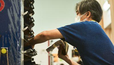 【特集】丁合機を使う社員に聞く チラシ束製造に込める思い